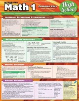 Math 1 Common Core High School | BarCharts Inc |