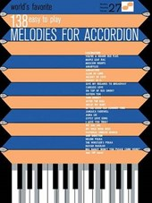 World's Favorite 138 Easy to Play Melodies for Accordion |  |