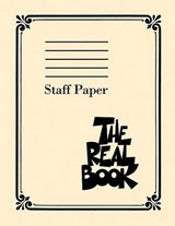 The Real Book Staff Paper | auteur onbekend |