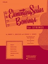 Elementary Scales and Bowings for Strings | auteur onbekend |