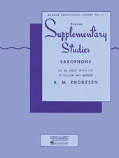 Supplementary Studies For Saxophone