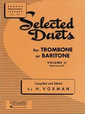Selected Duets for Trombone or Baritone |  |