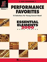 Performance Favorites - Alto Saxophone | auteur onbekend |