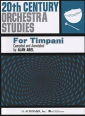20th Century Orchestra Studies for Timpani
