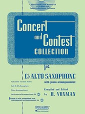 Concert and Contest Collection for Eb Alto Saxophone with Piano Accompaniment |  |