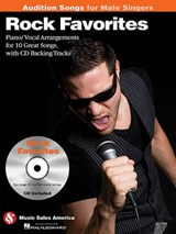 Rock Favorites - Audition Songs for Male Singers | auteur onbekend |