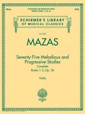 Seventy-Five Melodious and Progressive Studies