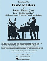 Learn from the Piano Masters of Pops...Blues...Jazz | auteur onbekend |