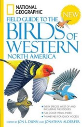 National Geographic Field Guide to the Birds of Western North America | Jon L. Dunn |