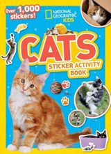 National Geographic Kids Cats Sticker Activity Book | National Geographic Kids |