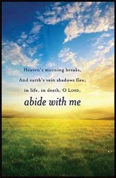 Abide with Me Hymn Bulletin (Pkg of 50)