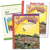 Comprehension Plus Homeschool Bundle, Level a [With Parent Guide and Teacher's Guide]