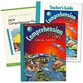 Comprehension Plus 2001 Homeschool Bundle Level E [With Booklet and Teacher's Guide]