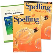 Spelling Workout Homeschool Bundle Level D Copyright 2002 [With Parent Guide and Teacher's Guide]