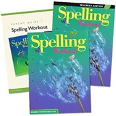 Spelling Workout Homeschool Bundle Level E Copyright 2002 [With Parent Guide and Teacher's Guide]