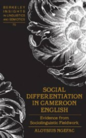 Social Differentiation in Cameroon English