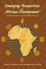 Emerging Perspectives on 'African Development' |  |