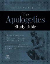 Apologetics Study Bible, Mahogany Leathertouch, The