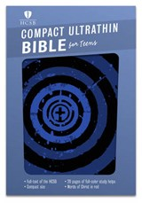 Compact Ultrathin Bible for Teens-HCSB | auteur onbekend |