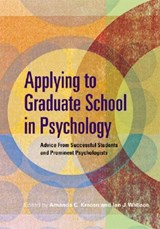 Applying to Graduate School in Psychology |  |