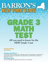Barron's New York State Grade 3 Math Test | Margery Masters M. S. Ed |