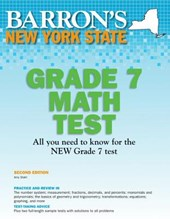 Barron's New York State Grade 7 Math Test | Amy Stahl |