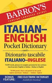 Barron's Italian-English Pocket Dictionary | Gabriela Neumann |