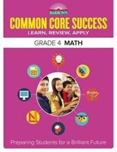 Barron's Common Core Success Grade 4 Math
