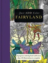 Fairyland Adult Coloring Book