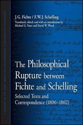 The Philosophical Rupture Between Fichte and Schelling: