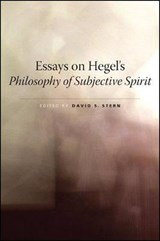 Essays on Hegel's Philosophy of Subjective Spirit |  |