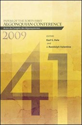 Papers of the Forty-first Algonquian Conference