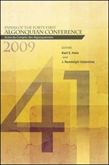 Papers of the Forty-first Algonquian Conference |  |