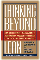 Thinking Beyond Lean | Cusumano, Michael A. ; Kentaro, Nobeoka |