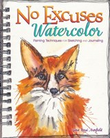 No Excuses Watercolor | Gina Rossi Armfield |