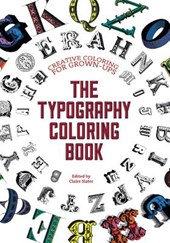 The Typography Adult Coloring Book