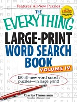 The Everything Large-Print Word Search Book | Charles Timmerman |
