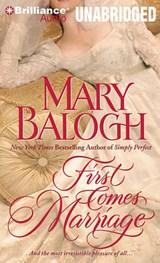 First Comes Marriage | Mary Balogh |