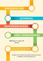 Research on Schools, Neighborhoods and Communities | Tate, William F., Iv |