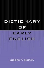 Dictionary of Early English