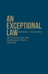 An Exceptional Law | Dennis G. Molinaro |