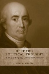 Herder's Political Thought | Vicki A. Spencer |