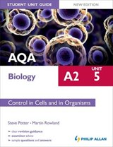 AQA A2 Biology Student Unit Guide New Edition: Unit 5 Contro | Steve Potter |