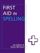 First Aid in Spelling | Jan Gallow |