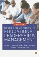 Research Methods in Educational Leadership and Management | Ann Briggs |