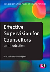 Effective Supervision for Counsellors | Jane Westergaard |