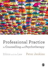 Professional Practice in Counselling and Psychotherapy | Peter Jenkins |