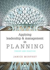 Applying Leadership and Management in Planning | Janice Morphet |