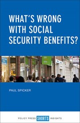 What's Wrong With Social Security Benefits? | Paul Spicker |