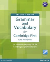 Grammar and Vocabulary for Cambridge First (no Key) | Luke Prodromou |